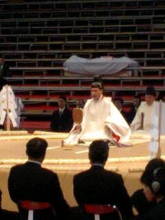 大相撲名古屋場所  土俵祭