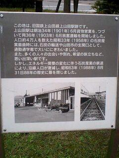 旧JR上山田線跡