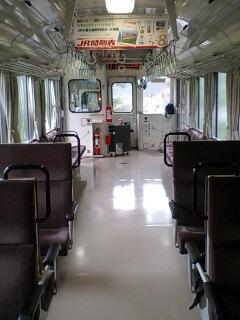 JR三江線貸切列車