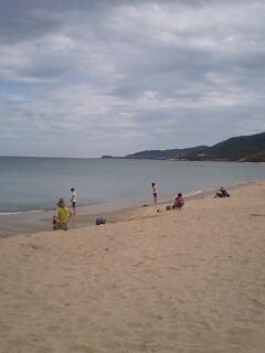 琴引浜の鳴き砂