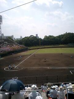 高校野球京都大会 準決勝