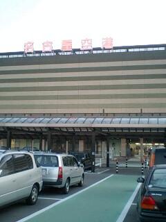 名古屋空港から旅立ち