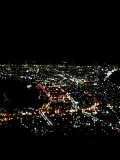 今夜の函館山