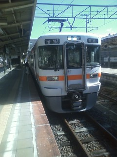 飯田線南下中