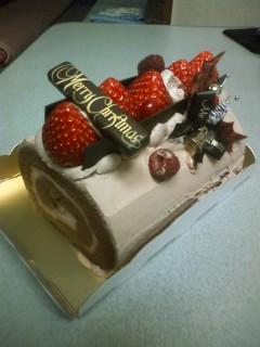 今年のイブも、マリオットのケーキ