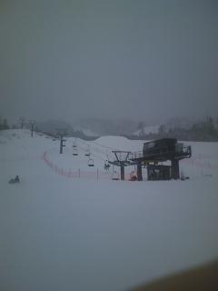 今シーズン初スキー