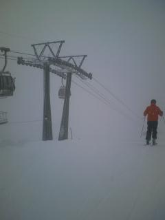 ちょっとだけスキー