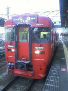普通列車の超閑散区間を往く