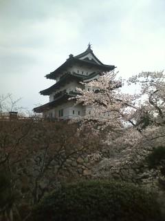 朝の弘前公園