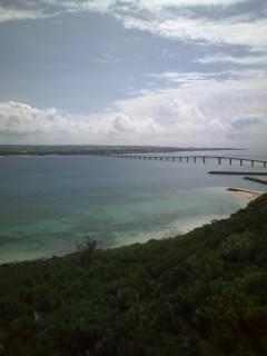 来間島からの眺め