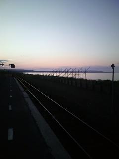 オホーツクに一番近い駅