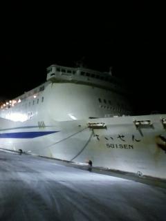 新日本海フェリー 苫小牧東→敦賀