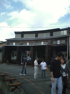 天竜二俣駅の転車台見学