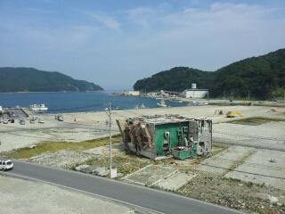 石巻線・女川駅周辺