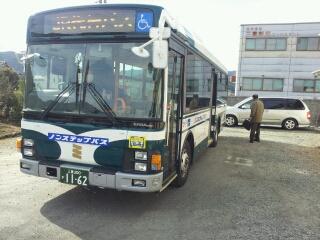 名松線代行バスで伊勢奥津へ