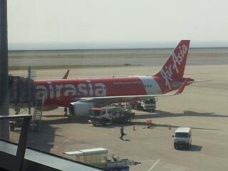エアアジア初乗り