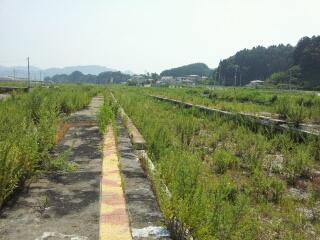 山田線・陸中山田駅周辺