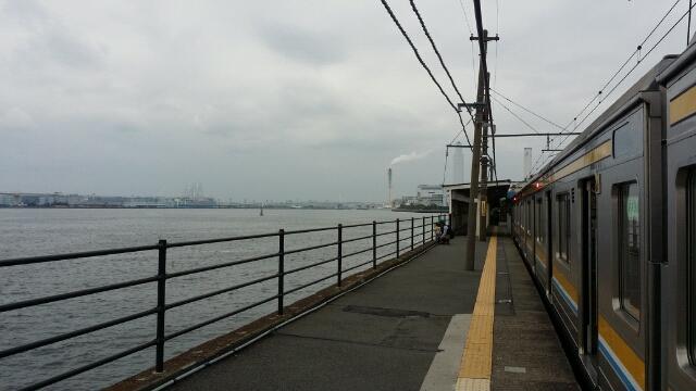 鶴見線・海芝浦駅へ