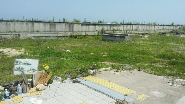 2014年夏 常磐線坂元駅・新地駅