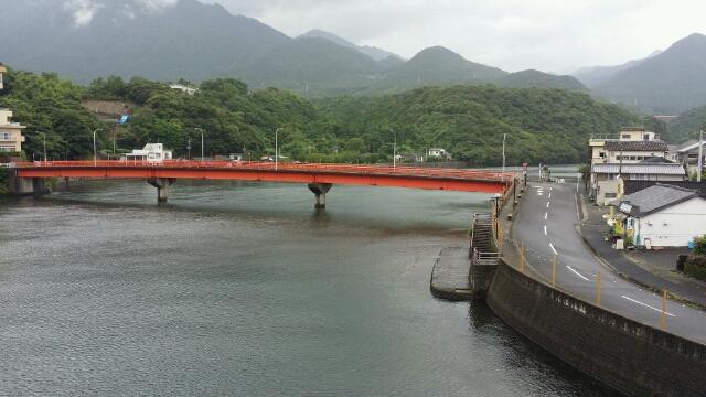 屋久島は、最後まで雨