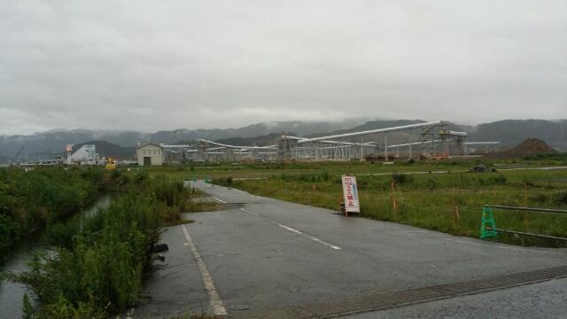 2014年夏・大船渡線陸前高田駅