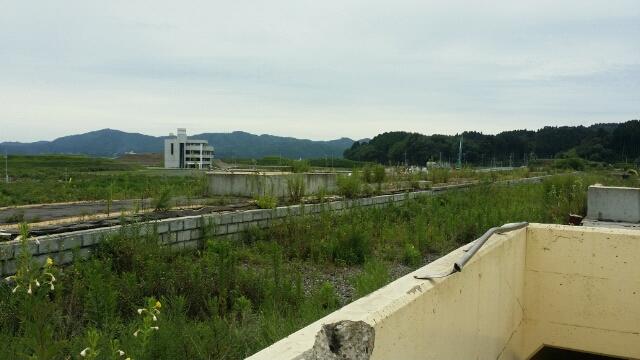 2014年夏・気仙沼線志津川駅