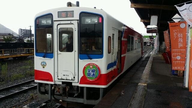 全線運行再開・三陸鉄道南リアス線