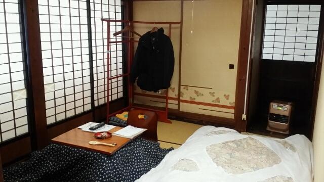 年末の旅は栃尾又温泉から