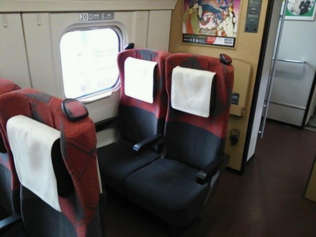 北陸新幹線開業日に初乗り