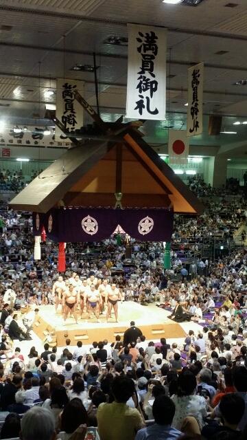 2015大相撲名古屋場所 初日観戦