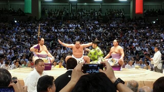 2015大相撲名古屋場所 9日目観戦