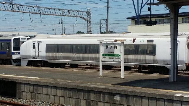 2015年夏 常磐線新地駅・坂元駅