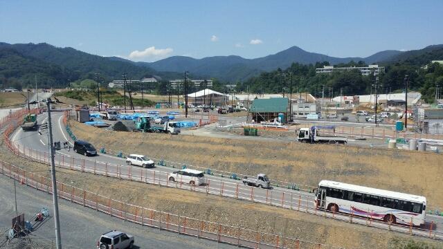2015年夏・石巻線女川駅周辺
