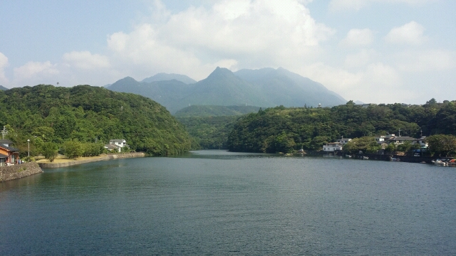 屋久島は、今日も晴天なり。