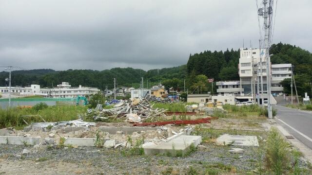 2015年夏 山田線陸中山田駅周辺